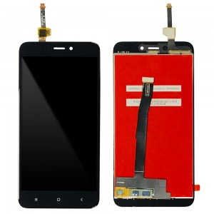 Xiaomi Redmi 4X - Full Front LCD Digitizer Black