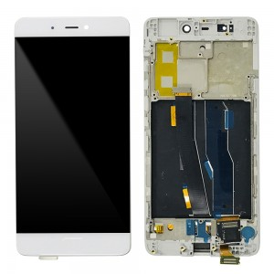 Xiaomi Mi 5S - Full Front LCD Digitizer with Frame White