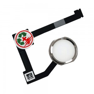 iPad Mini 4 - Home Button Flex Cable White