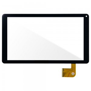 Universal 10.1 inch FX-C10.1-213-V1  / Denver TAQ-10233 - Front Glass Digitizer Black