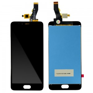 Meizu M5S - Full Front LCD Digitizer Black