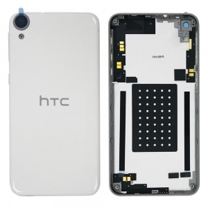 HTC Desire 820 - Back Housing Cover with Camera Lens White