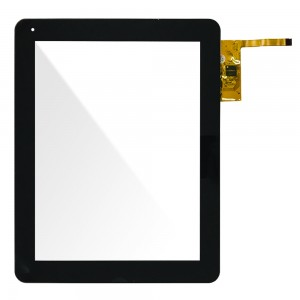 Universal 9.7 inch / Eeze Tab 974 - Front Glass Digitizer with Frame Black 300-L4567K-B00