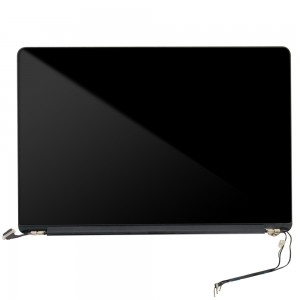 Macbook Pro Retina 15 inch A1398 LATE 2013/MID 2014 - Full Front LCD with Housing Silver