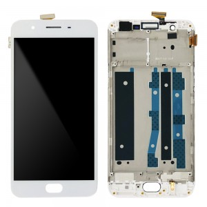 OPPO F1S A1601 - Full Front LCD Digitizer with Frame White