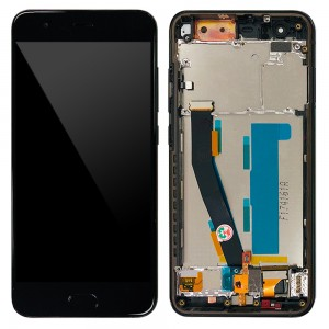 Xiaomi Mi 6 - Full Front LCD Digitizer With Frame Black