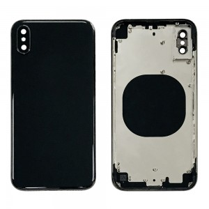 iPhone X - Back Housing Cover Black