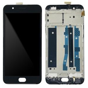 OPPO F1S A1601 - Full Front LCD Digitizer with Frame Black