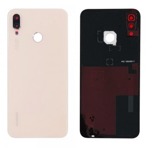 Huawei P20 Lite - OEM Battery Cover with Camera Lens & Adhesive Pink
