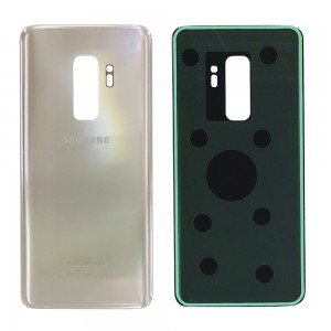 Samsung Galaxy S9 Plus G965 - Battery Cover with Adhesive Gold