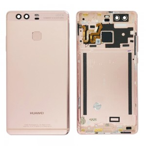 Huawei Ascend P9 - Back Housing with Fingerprint Sensor Flex Pink