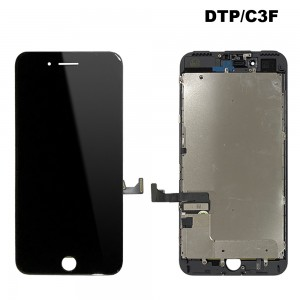 iPhone 7 Plus – LCD Digitizer (Original Remaded) Black (Comp. DTP/C3F)