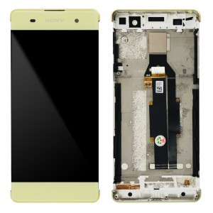 Sony Xperia XA F3111 F3113 F3115 / XA Dual F3112 F3116 - Full Front LCD Digitizer with Frame Green