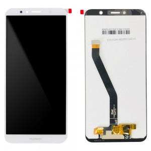Huawei Ascend Y6 2018 - OEM Full Front LCD Digitizer White