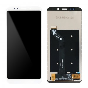 Xiaomi Redmi 5 Plus - Full Front LCD Digitizer White