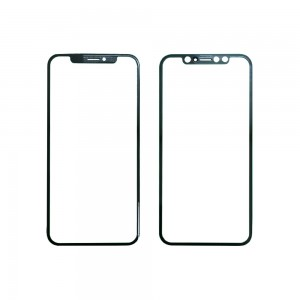 iPhone X - OEM Front Glass Black