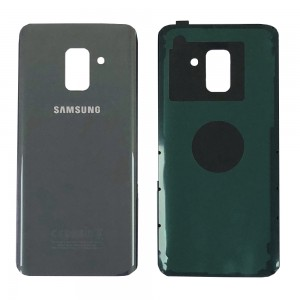 Samsung Galaxy A8 (2018) A530 - Battery Cover with Adhesive Grey