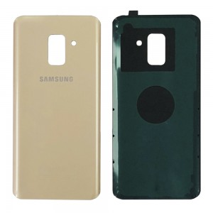 Samsung Galaxy A8 (2018) A530 - Battery Cover with Adhesive Gold