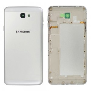 Samsung Galaxy J7 Prime Duos G610DS - Back Housing Cover Silver