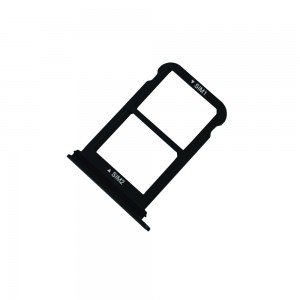 Huawei P20 - Sim 1 / Sim 2 Tray Holder Black