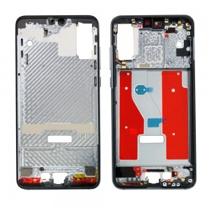 Huawei P20 Pro - OEM LCD / Middle Frame with Power & Volume Flex Cable Grey