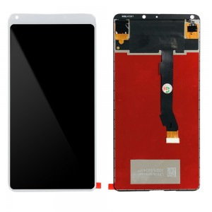 Xiaomi Mi Mix 2S - Full Front LCD Digitizer White