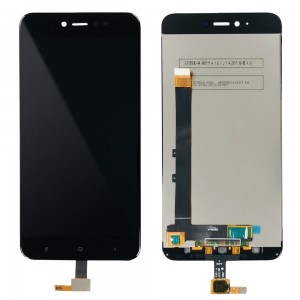 Xiaomi Redmi Note 5A - Full Front LCD Digitizer Black