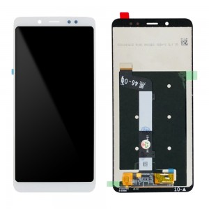 Xiaomi Redmi Note 5 - Full Front LCD Digitizer White