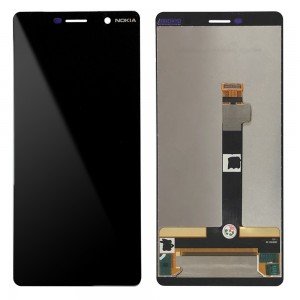 Nokia 7 Plus - Full Front LCD Digitizer Black