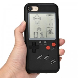iPhone 6 / 6S - Retro Game 99 in 1 Phone Case VC-061 Black