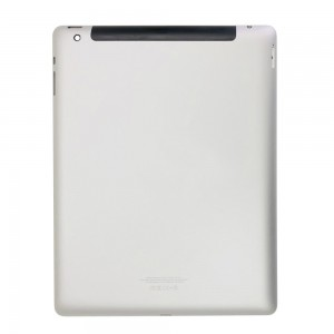 iPad 4 - Back Cover Model A1460 Silver