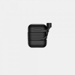 Baseus - Case for Airpods with Anti-Theft Sling Black