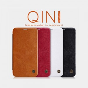 iPhone XR - NILLKIN Qin Leather Case