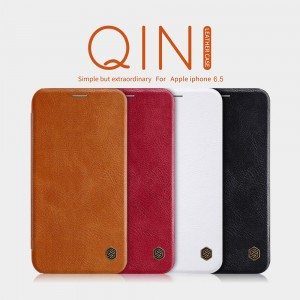 iPhone XS MAX - NILLKIN Qin Leather Case