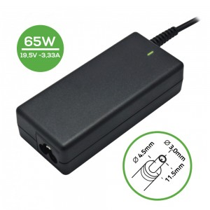 Laptop Charger - AC Adapter Power Supply 19.5V-3.33A-4.5*3.0 40W