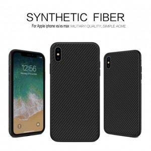 iPhone XS Max - Nillkin Synthetic Fiber Phone Case