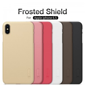 iPhone XS Max - NILLKIN Super Frosted Shield Case