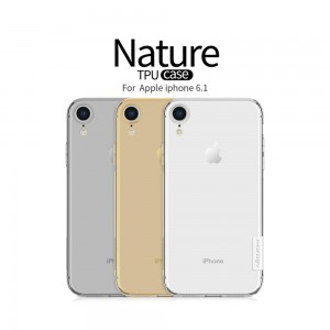 iPhone XR - Nillkin Nature TPU Case 0.6mm