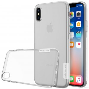 iPhone XS Max - Nillkin Nature TPU Case 0.6mm