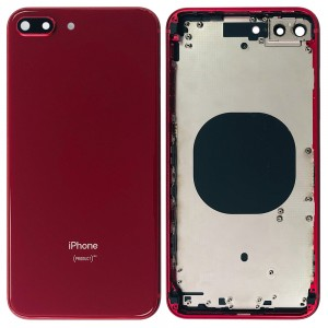 iPhone 8 Plus - Back Housing Cover RED Edition