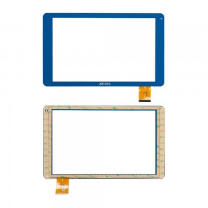 Universal 10.1 inch / Archos 101B Xenon - Front Glass Digitizer CN068FPC-V1 Blue