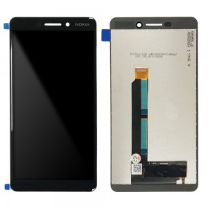 Nokia 6.1 - Full Front LCD Digitizer Black