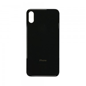 iPhone XS MAX - Battery Cover Black
