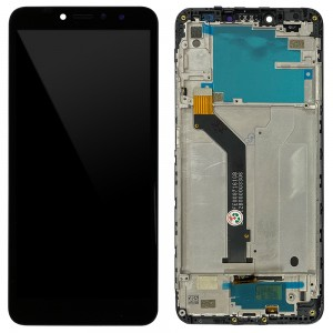 Xiaomi Redmi S2 / Y2 - Full Front LCD Digitizer with Frame Black