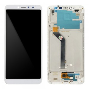 Xiaomi Redmi S2 / Y2 - Full Front LCD Digitizer with Frame White