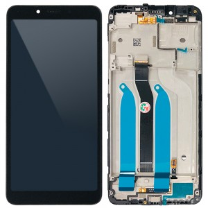 Xiaomi Redmi 6 / 6A - Full Front LCD Digitizer with Frame Black