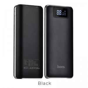 HOCO - Power Bank B23A 15000mAh with Dual Output & LED Display Black