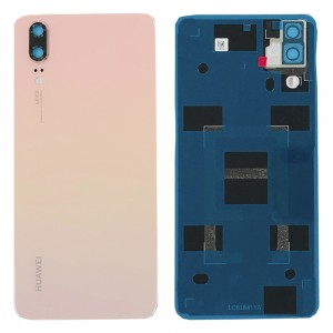 Huawei P20 - OEM Battery Cover Pink with Camera Lens & Adhesive