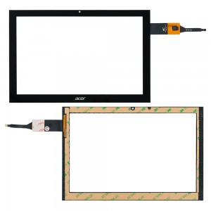 Acer iconia Tab B3-A40 - Front Glass Digitizer Black