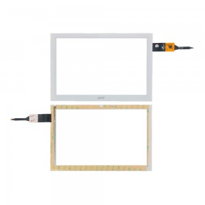Acer iconia Tab B3-A40 - Front Glass Digitizer PB101JG3179-R4 White